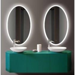Espejo Ovalado Iris Led