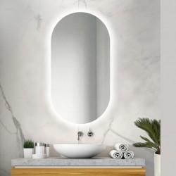 Espejo Ovalado Carter Led