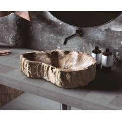 Lavabo Sobreencimera Piedra...