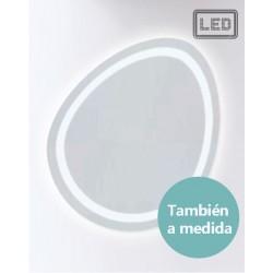 ESPEJO RETROILUMINADO LED MODELO HV 207  · También a medida